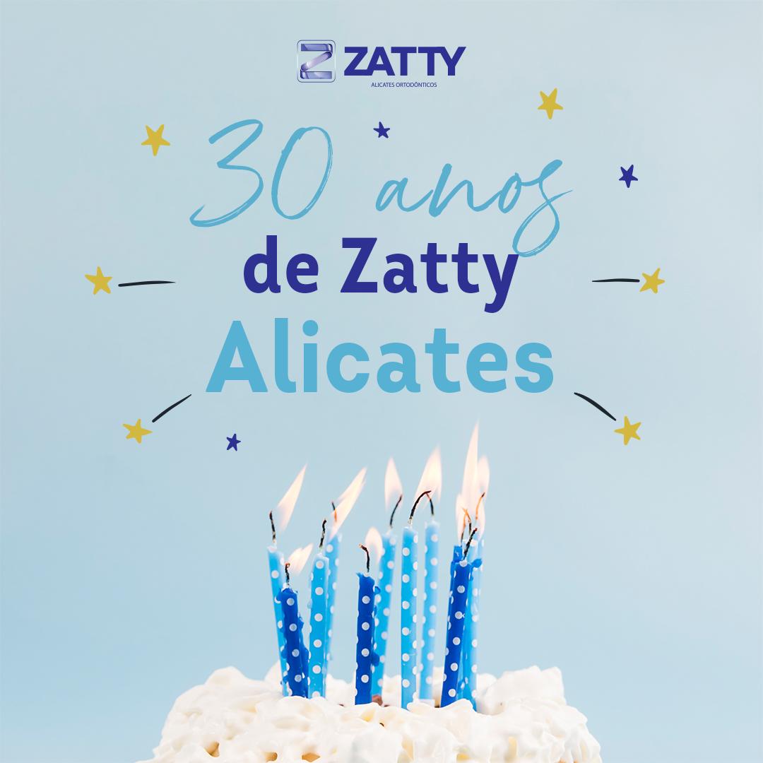 Aniversário 30 anos Zatty